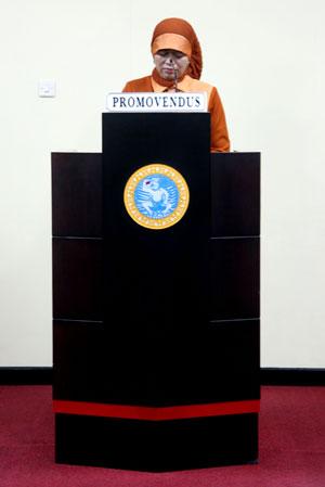 Kepala Program Studi Magister Sosiologi UMM, Vina Salviana DS, Selasa (30/11), berhasil