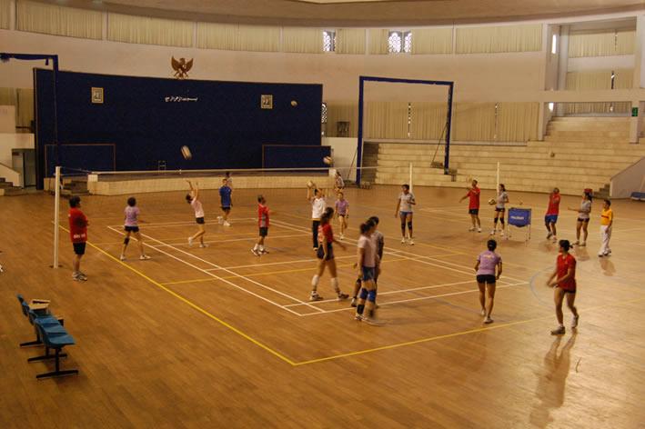 Lapangan Volley   Universitas Muhammadiyah Malang
