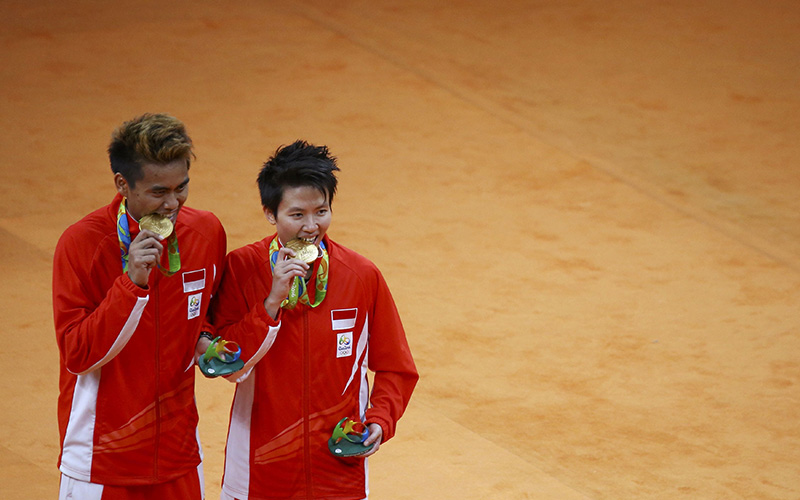 owi butet akan turun di asian games 2018 D2BisTzAqR - Asian Games Badminton 2018