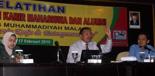 Pusat Pengembangan Karier Mahasiswa dan Alumni (PKMA) Universitas Muhammadiyah