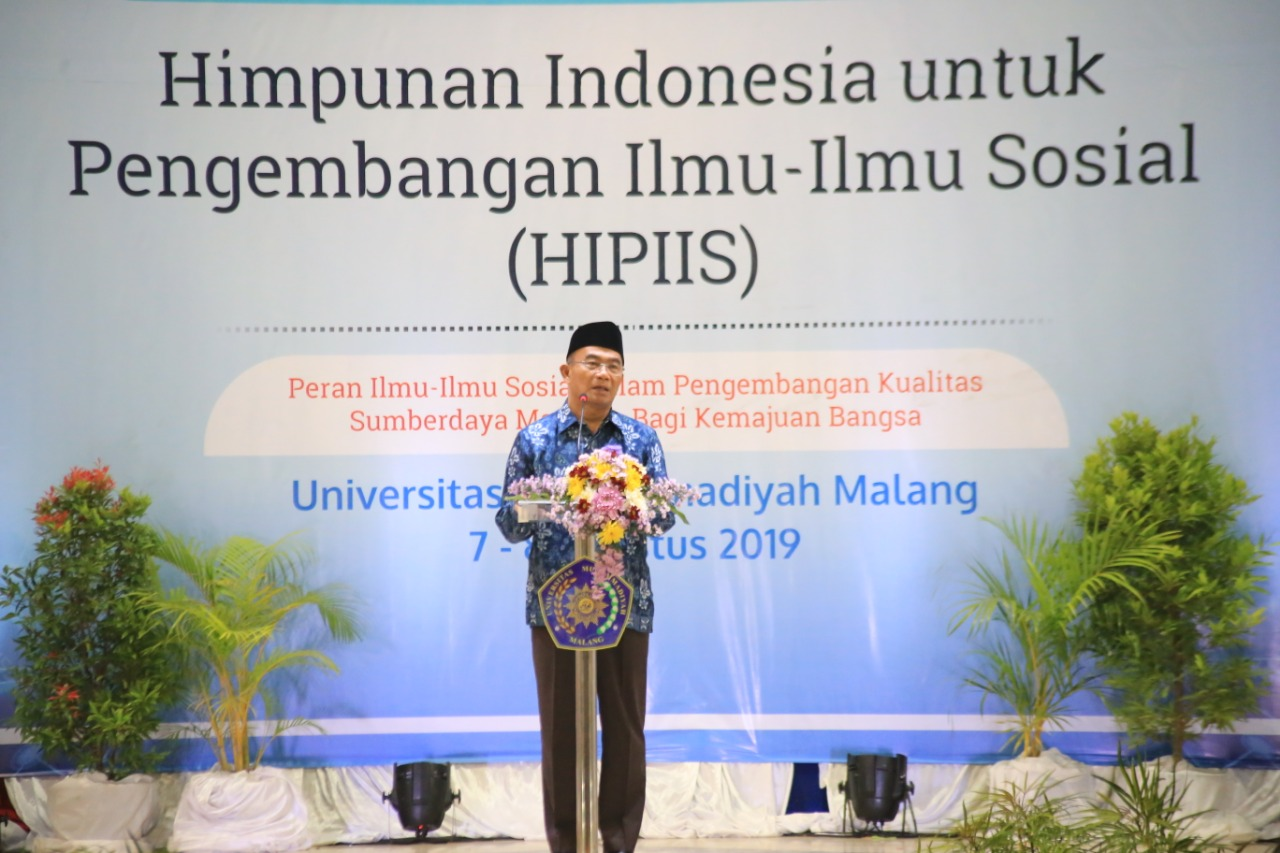 The greetings of the HIPIIS Chairman in the opening of National Convention HIPIIS (Photo: Rino/PR