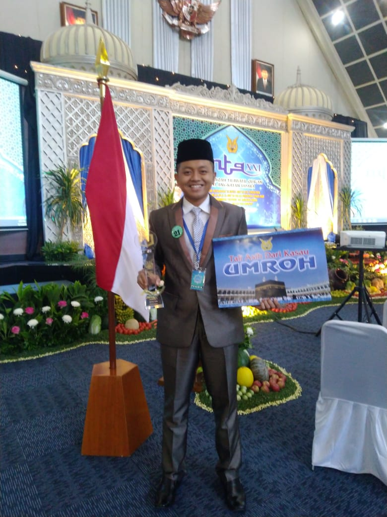 Rasyid, the winners of the Air Force National Navy MTQ Competition (Photo: Yasmin / PR) The competition